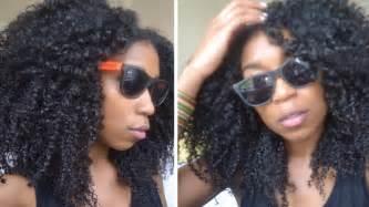 no fuss quick summer beach curls natural hair youtube