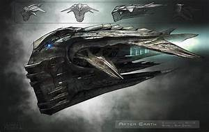 Alien Spacecraft Concept (page 2) - Pics about space