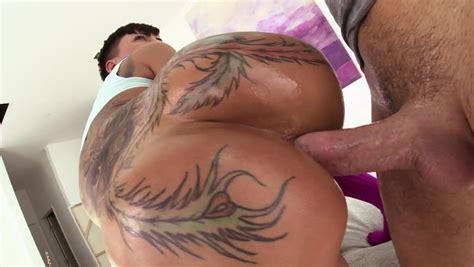 Slow Butt Fucking Of Tattooed Cock Whore Bella Bellz