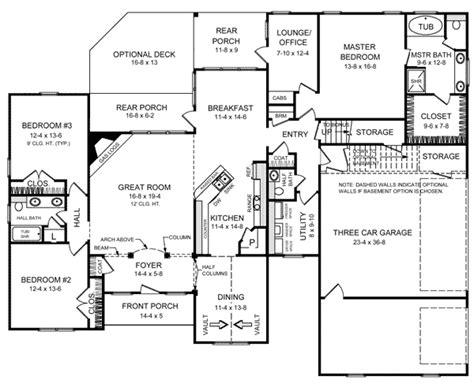 house plan traditional style sq ft bed bath bath