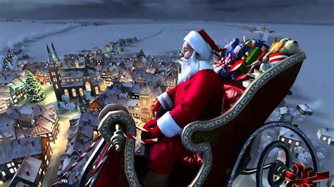Santa S Workshop Wallpaper Animated - santa claus 3d screensaver mp4