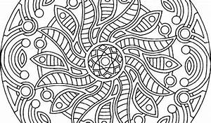 Free Printable Mandala Coloring Pages For Adults By Maud