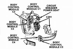 Chrysler Town Country 2005 Door Wiring