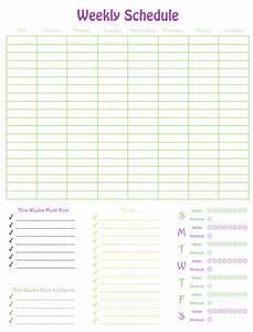 weekly schedule numbers template free iwork templates With numbers schedule template