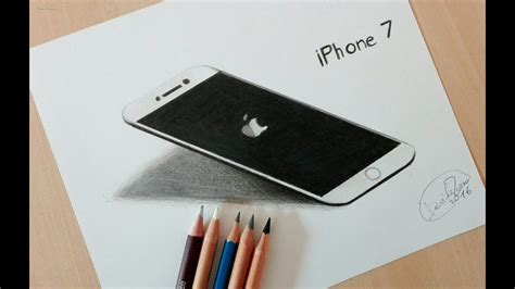 how to phone how to draw an iphone 7