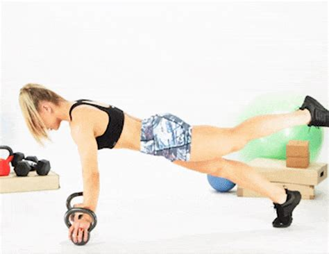 kettlebell push workout body challenge leg shape total