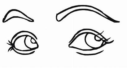Coloring Pages Eyes Eye Clipart Colouring Printable
