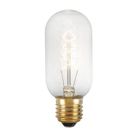 renwil 40 watt incandescent t14 light bulb 3 pack lb004