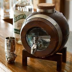 whiskey barrel drink dispenser decanter so that 39 s cool
