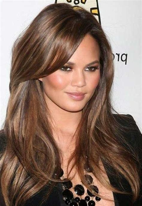 20 Inspirations of Long Hairstyles With Layers And Side Bangs