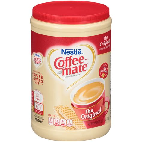With coffee mate non dairy coffee creamer you can create your perfect cup of velvety goodness by adding the right amount of flavor you want. Coffee Mate Original Powdered Creamer Nutrition Facts - Besto Blog