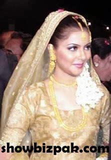 celebrity weddings nida yasir wedding pics