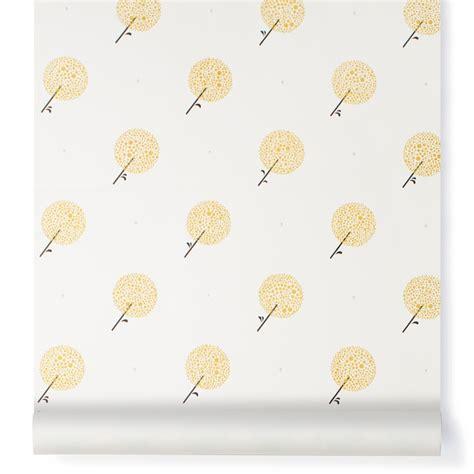 papier peint libertiti parisien moutarde bartsch design enfant
