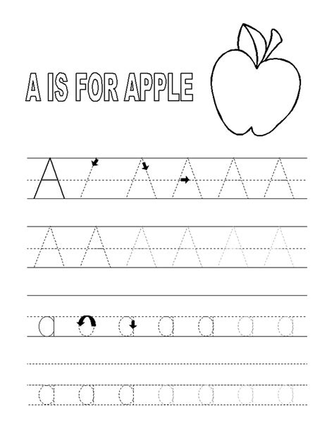 Abc Tracing Sheets Free  7 Best Images Of Printable Abc