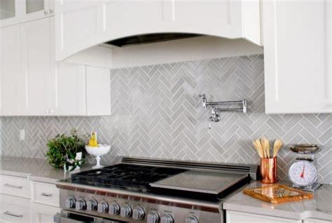 Herringbone Backsplash Tile :  7 Ways To Use Herringbone In Your Kitchen