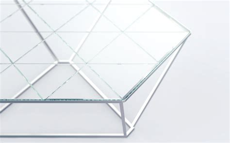 Coffee table DIAMOND   design Sacha Lakic for Roche Bobois   Design Sacha Lakic