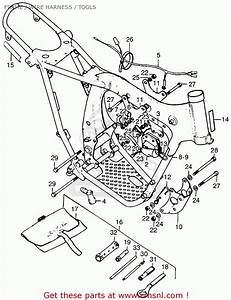 honda tl125 trials 1974 k1 usa frame wire harness With wire schematic tool