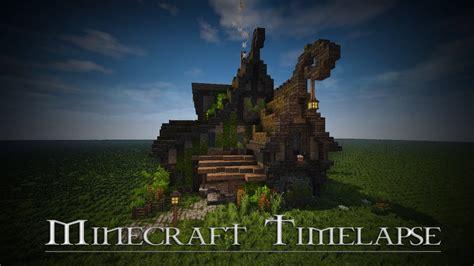 boitameu minecraft timelapse rustic fantasy house  youtube