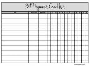 Blood Pressure Excel Template Get Your Finances Organized With A Bill Payment Checklist