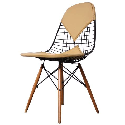 eames dkw dowel leg side chair for herman miller for sale
