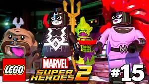 LEGO Marvel Super Heroes 2 Walkthrough Part 15 - Inhuman ...