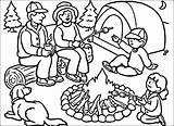 Camping Coloring Pages Camp Tent Summer Printable Sheets Drawing Colouring Campfire Putting Preschool Worksheets Activities Getcolorings Susquehanna Valley River Drawings sketch template