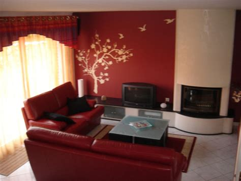 couleurs mur salon  chambre  coucher deco