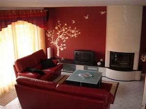Couleur Qui Va Avec Le Rouge : couleurs mur salon et chambre coucher d co ~ Melissatoandfro.com Idées de Décoration
