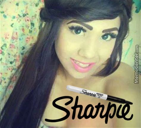 Bad Eyebrows Meme - pin sharpie eyebrows meme quickmeme on pinterest