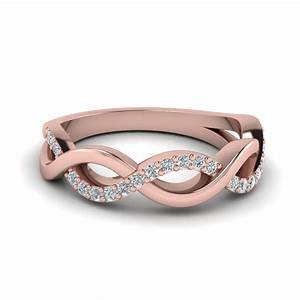 Buy Rose Gold Womens Wedding Band Online Fascinating