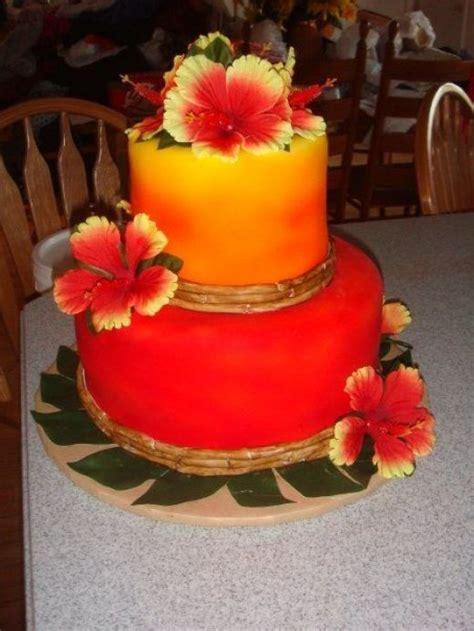 Hawaiian Birthday Cakes On Pinterest  Hawaiian Cakes