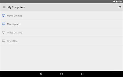 bureau distant mac bureau à distance chrome applications android sur