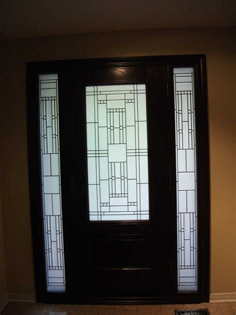 stained glass exterior doors front entry doors