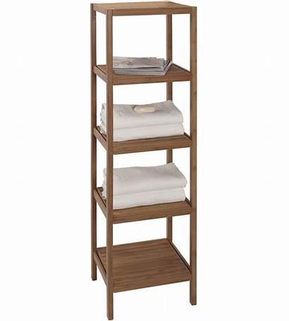 Bamboo Bathroom Shelves Shelving Unit