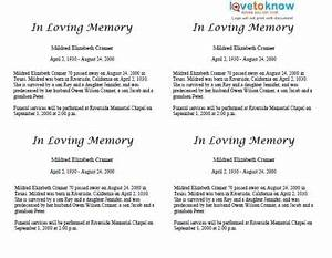 how to write an obituary for a fatherwritings and papers With obituary template for father