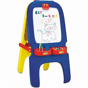 crayola magnetic double sided easel art easel storage With double easel with magnetic letters