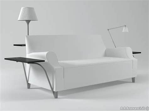canape stark divano cassina philippe starck l w s lazy working sofa
