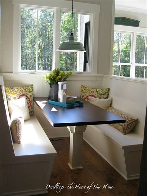 images  kitchen table benches  pinterest