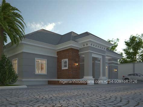 Architectural Design Of 4 Bedroom Duplex In Nigeria