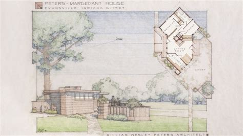 wright inspired tiny home resurfaces  indiana town