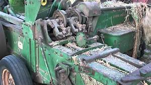 Manually Tripping The Knotters On A 14t John Deere Baler