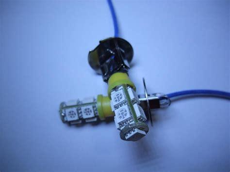 h3 led fog light bulbs 2x h3 9 smd yellow amber led car fog light bulb 12v ebay