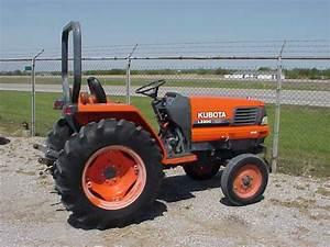 Kubota Tractor L2900 L3300 L3600 L4200 2wd 4wd Operator