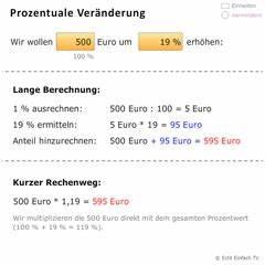 Prozentuale änderung Berechnen : liste aller mathe lernprogramme matheretter ~ Themetempest.com Abrechnung