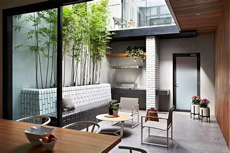 exteriores un patio interno peque 241 o de dise 241 o moderno