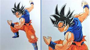 Drawing Goku Migatte No Gokuiultra Instinct Full Body