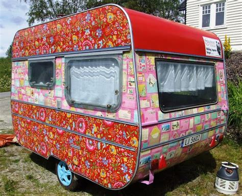 the painting color commerce old caravan retro cute painted vintage cers vintage travel