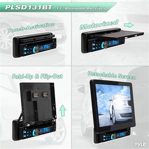 Pyle - Plsd131bt  Lcd Touch Screen