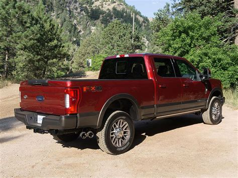 2017 Ford F 250 Reviews by 2017 Ford F 250 Duty 4x4 Crew Cab King Ranch Test