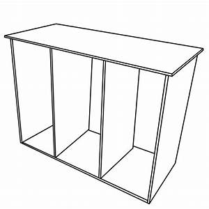 Build, A, Kitchen, Island, Cart, With, Crates